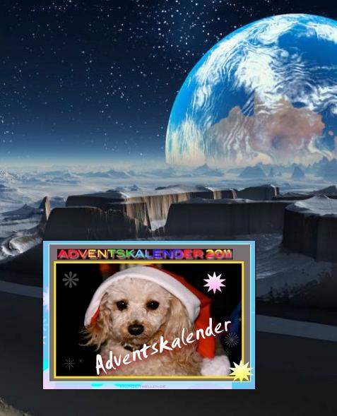 Raumzeitwellen-Adventskalender