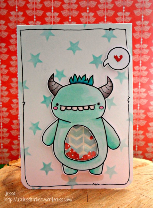 UselessTrinkets_Teeth_Monster_Zähnchen_Shaker_Card_Love_Stars