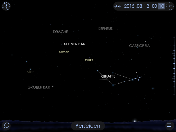 Perseiden Starwalk image1
