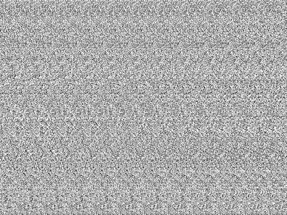 Stereogramm mit Zahl und Buchstabe