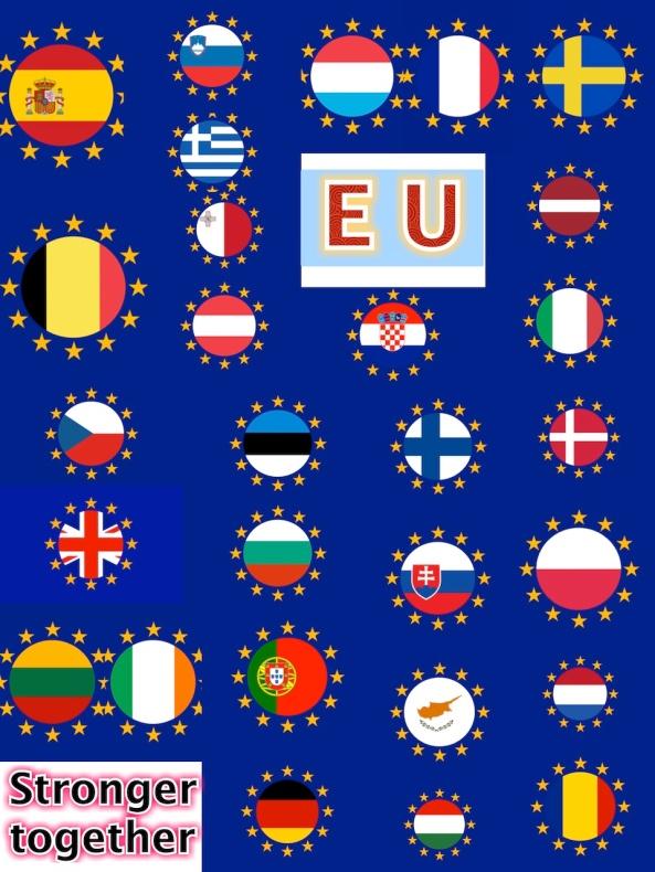 EU Stronger Plakat e.e